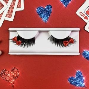 🍒 5/$20 new Ardell Fairy Witch Red Bow Lashes